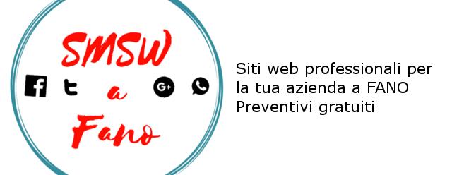 Creazione siti web aziendali a Fano