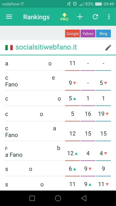 SERPmojo - App Android gratuita per il controllo della SERP