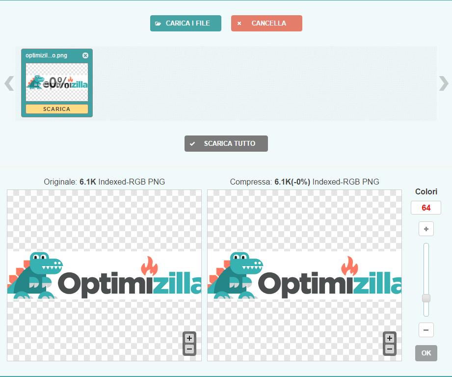 Come usare optimizilla