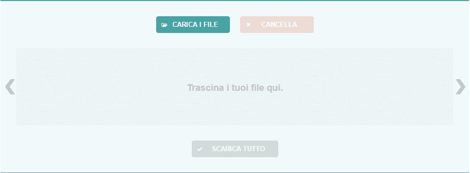 Optimizilla homepage caricare foto