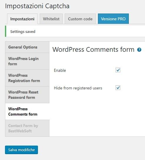Come bloccare i commenti SPAM stranieri su WordPress