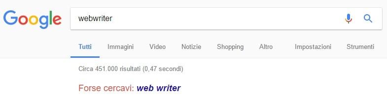 Google-suggerisce-web-writer-non-webwriter