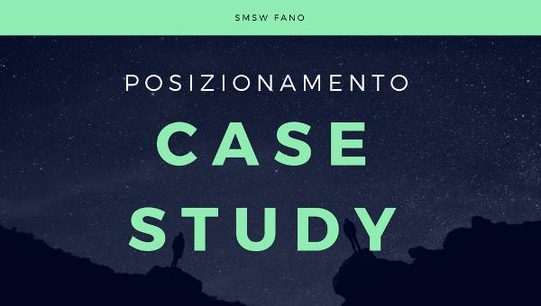 Test posizionamento SEO - case study