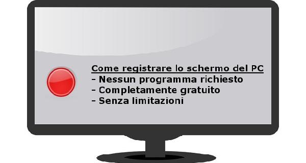 Registrare schermo online
