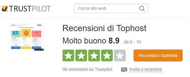 recensioni-tophost-trustpilot