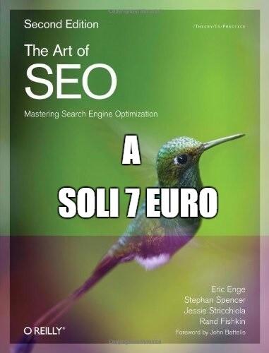 The art of SEO edizione 2012 acquistabile a soli 7 euro