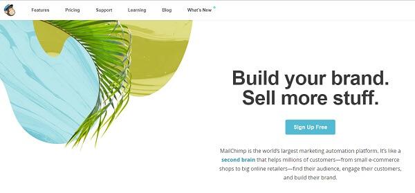 Mailchjimp è lo strumento per l'invio di mail massive più famoso del web