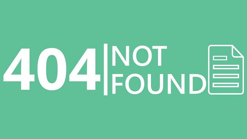 Errore 404, cosa non fare e come gestirlo con dei redirect